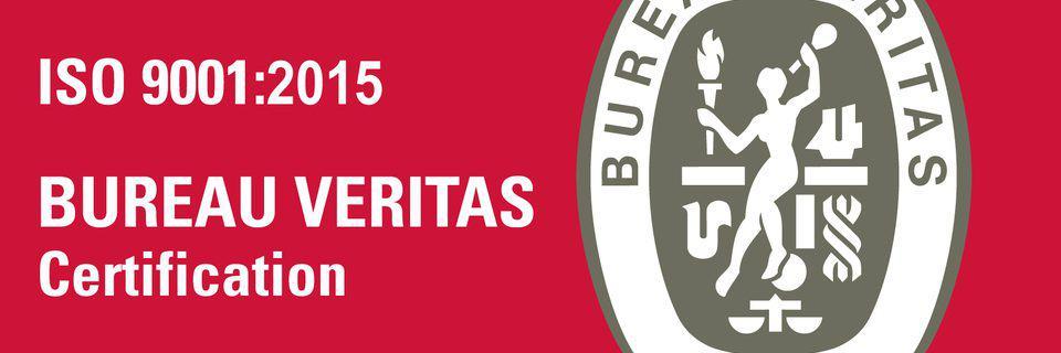 ISO 9001:2015 nieuw certificaat behaald